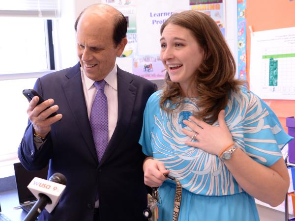 Angie Wytovich Mike Milken call husband