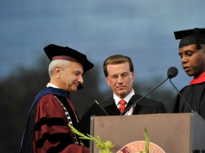Lowell Milken Accepts Honorary Doctorate from Chapman University