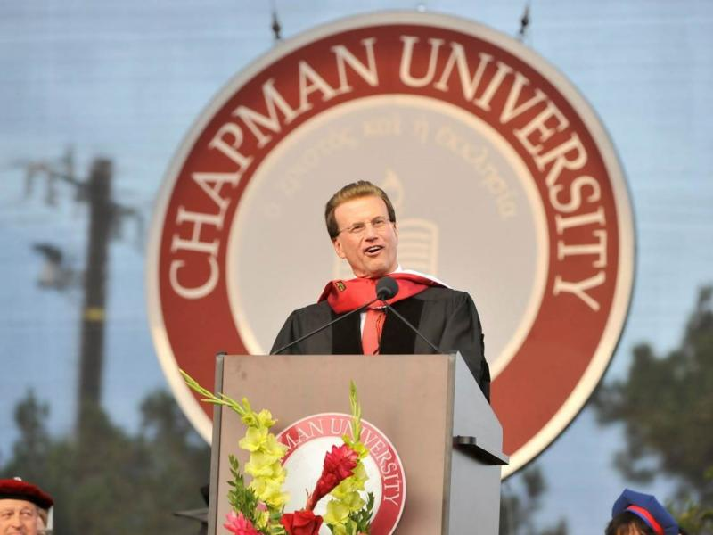 Lowell Milken Chapman University Honorary Doctorate Speech