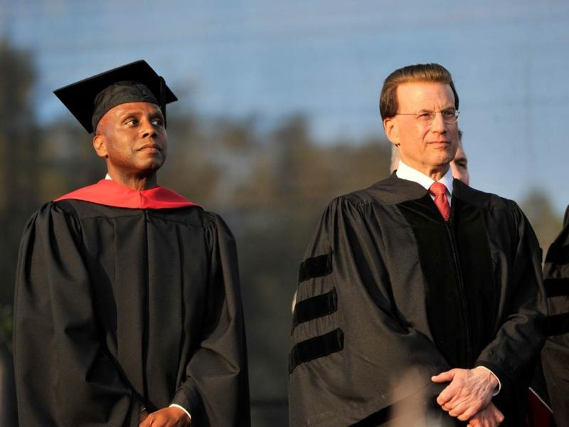 Lowell Milken Awarded Honorary Doctorate from Chapman University