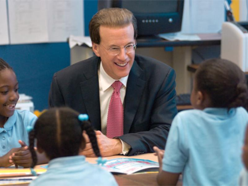 TAP Students in New Orleans Visit with Lowell Milken