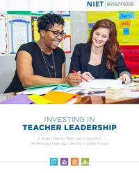 investing in teacher leadership cover