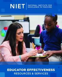 niet educator effectiveness resources services catalog cover cropped