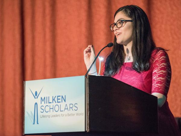 Daniella Gonzalez speech 2017 New York Milken Scholars dinner