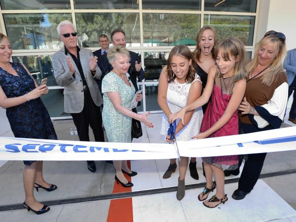 Guerin Institute ribbon cutting