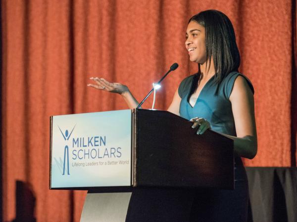 Melissa Hynds speech 2017 New York Milken Scholars dinner
