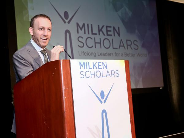 Milken Scholars Program Director Gregory Milken