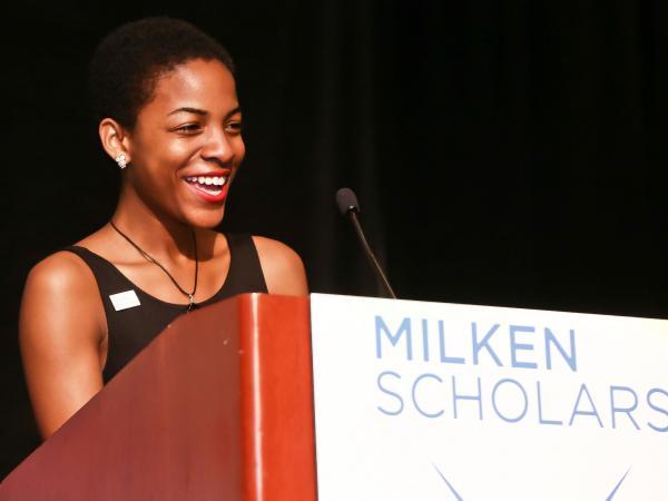 Milken Scholar Anthonya James