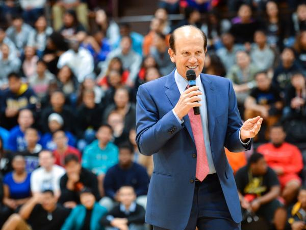Mike Milken at Nathan Gibbs-Bowling notification
