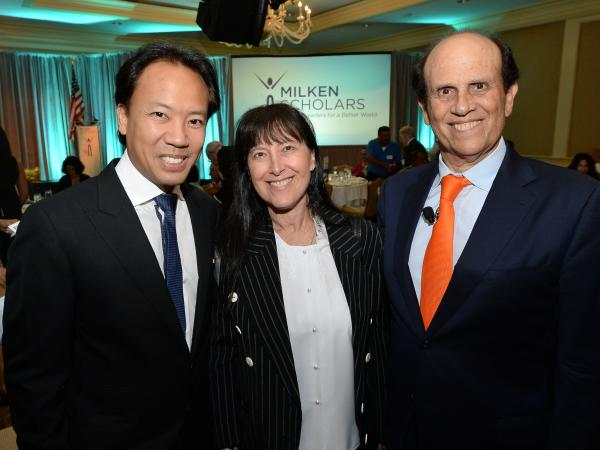 Jim Kwik Joni Mike Milken 2017 Milken Scholars Summit