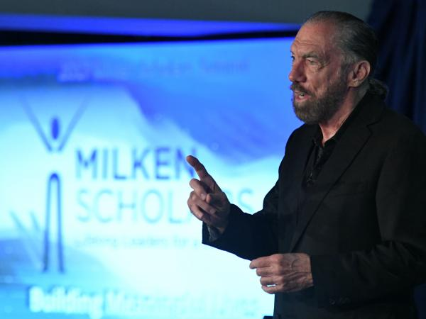 John Paul DeJoria speaks at 2017 Milken Scholars Summit