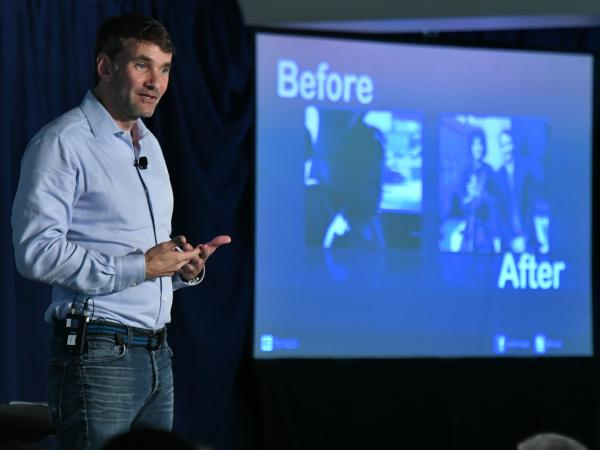 Keith Ferrazzi speaks 2017 Milken Scholars Summit