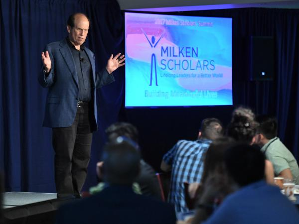 Mike Milken presentation 2017 Scholars Summit