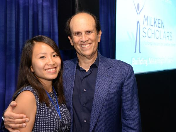 Nhi Ho Mike Milken 2017 Scholars Summit
