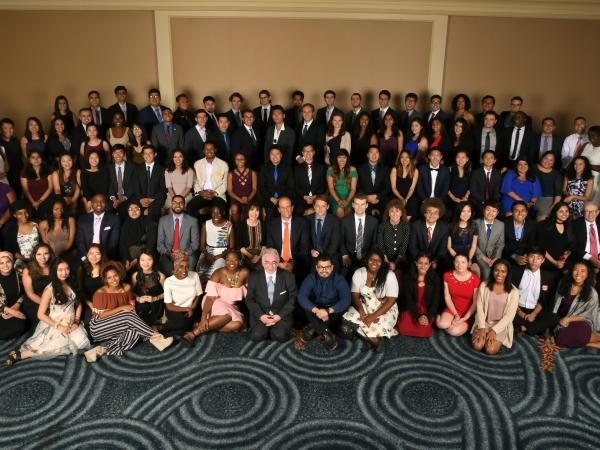 2017 Scholars large group
