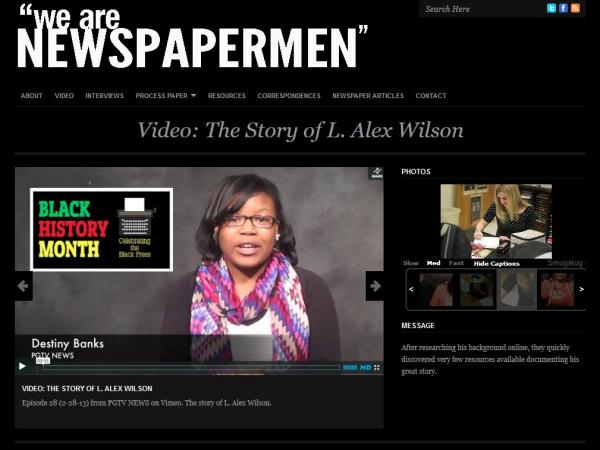 "$10,000 Grand Prize winner ""We Are Newspapermen: The Man Who Refused to Run"""