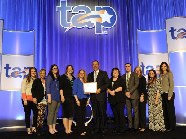 Cross County School District celebrate the TAP Award of Distinction