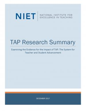 tap research summary 1217 cover