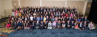 2016 Milken Scholars Summit group photo