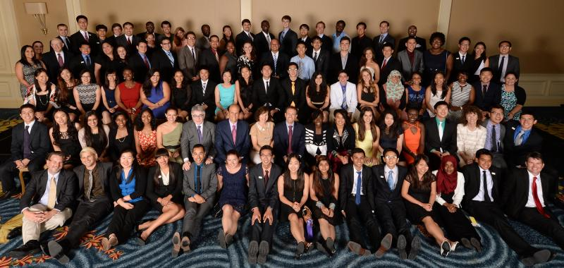 2014 Milken Scholars group photo