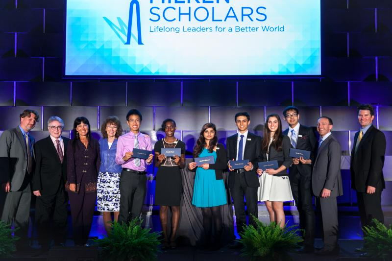 2014 NY Milken Scholars and VIPs