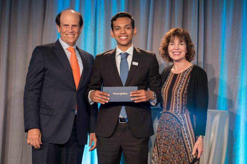 Daniel Guillen Mike Lori Milken 2017 Scholars summit