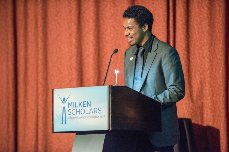Michael Williams speech 2017 New York Milken Scholars dinner