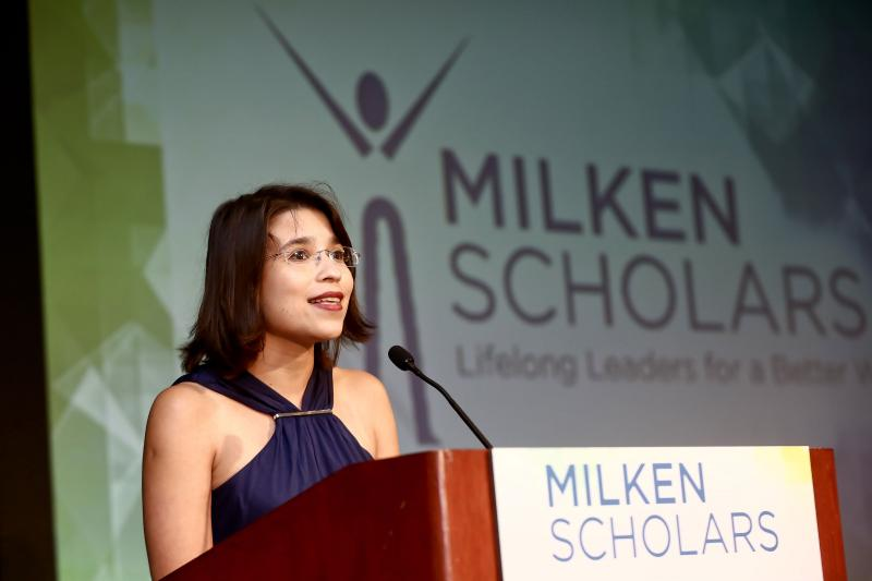 Milken Scholars DC Ceremony Marcela Correa speech
