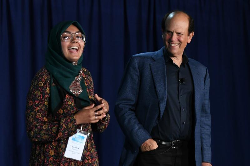 Sabiya Ahamed Mike Milken 2017 Scholars Summit